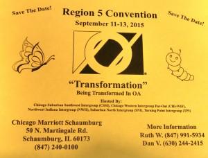 2015 Region 5 Convention Flyer